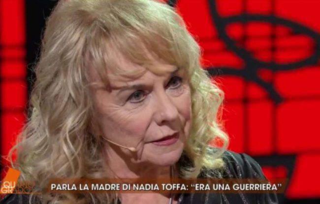 Quarto Grado, parla la mamma di Nadia Toffa: