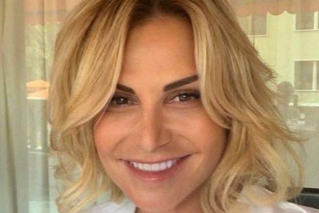 Simona Ventura da giovane