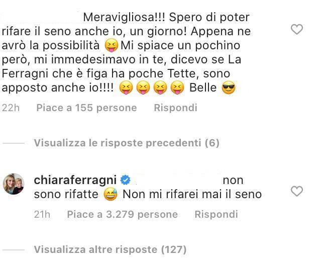 Chiara Ferragni rifatta seno