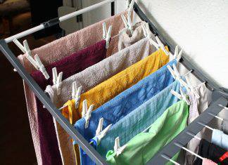 Come asciugare il bucato quando piove