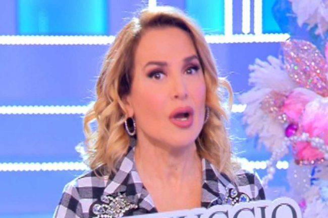 Barbara D'Urso annuncio Pomeriggio Cinque