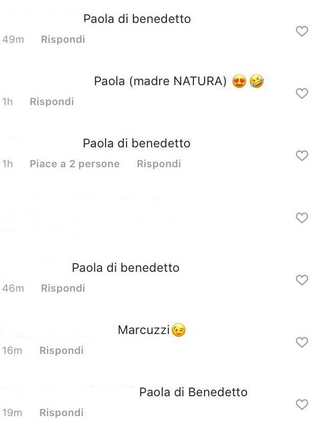 Grande Fratello Vip Paola Di Benedetto