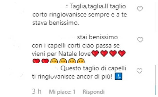 ELisabetta Canalis commenti