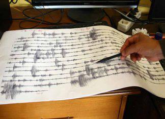 Terremoto Mar Tirreno