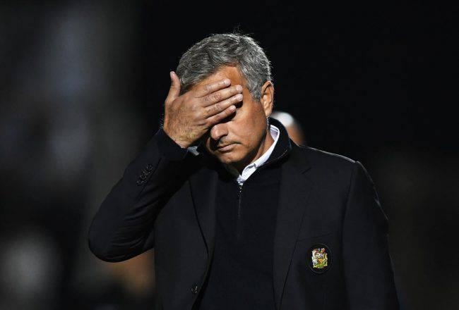 Mourinho lutto