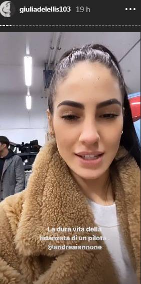 Giulia De Lellis arrabbiata