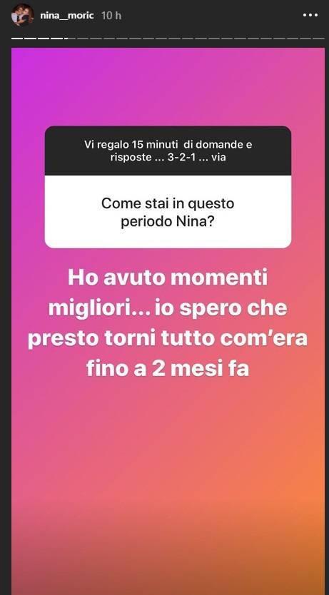 Nina Moric risposta