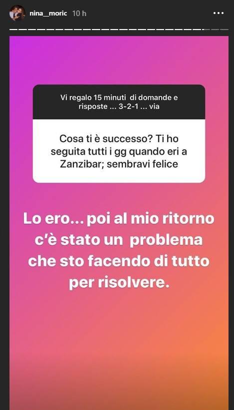 Nina Moric problema