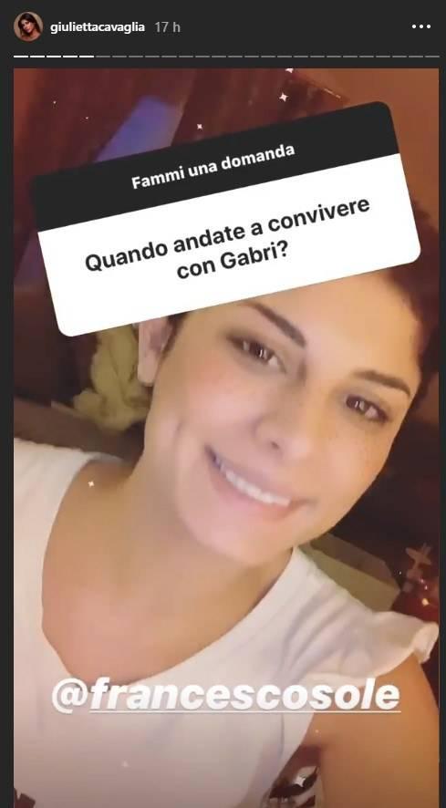 Giulia Cavaglià annnuncio