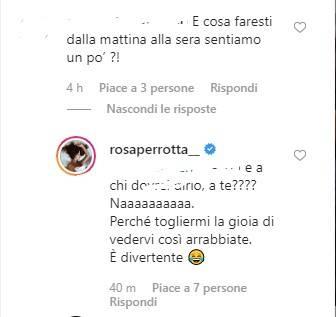 Rosa Perrotta commenti