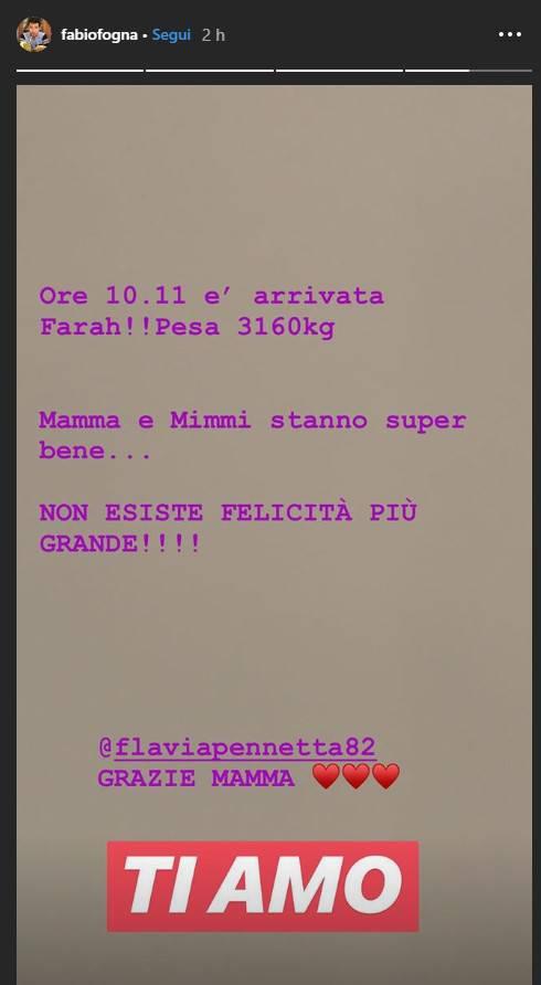Fabio Fognini post Instagram