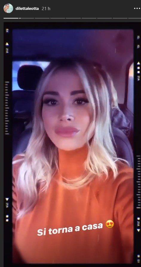 Diletta Leotta video Instagram