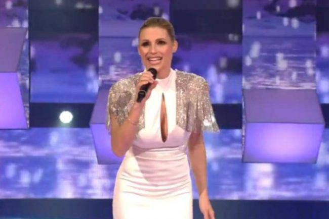 michelle hunziker all together now