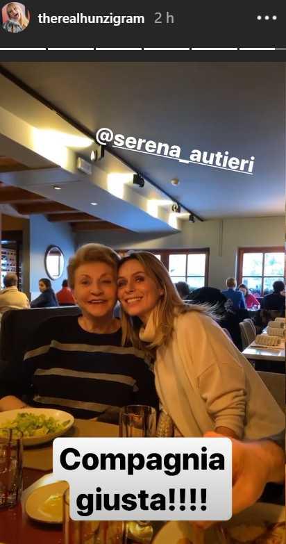 Michelle Hunziker mamma Serena Autieri