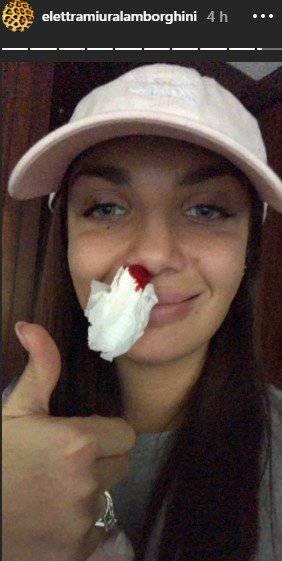 elettra lamborghini sangue stories instagram