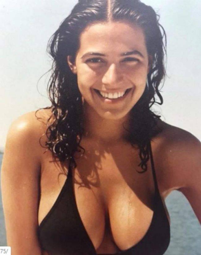 Barbara D'Urso a 20 anni