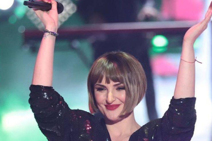 Giordana Angi a Sanremo 2020 con