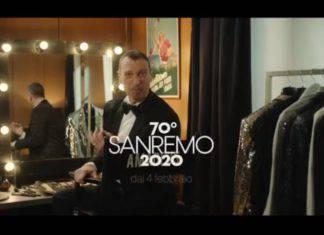 Sanremo 2020, Michelle Hunziker attacca Amadeus: la reazione del conduttore
