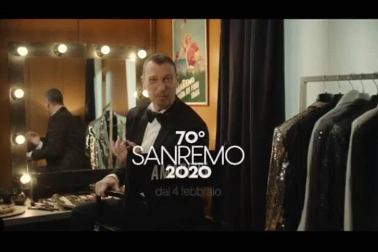Sanremo 2020, Amadeus parla delle 9 donne che lo accompagneranno
