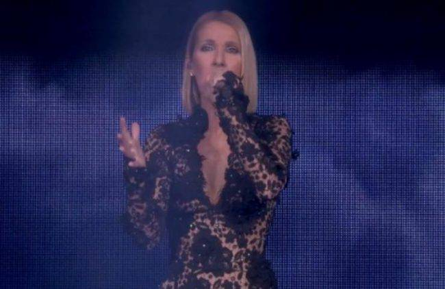 Celine Dion lutto