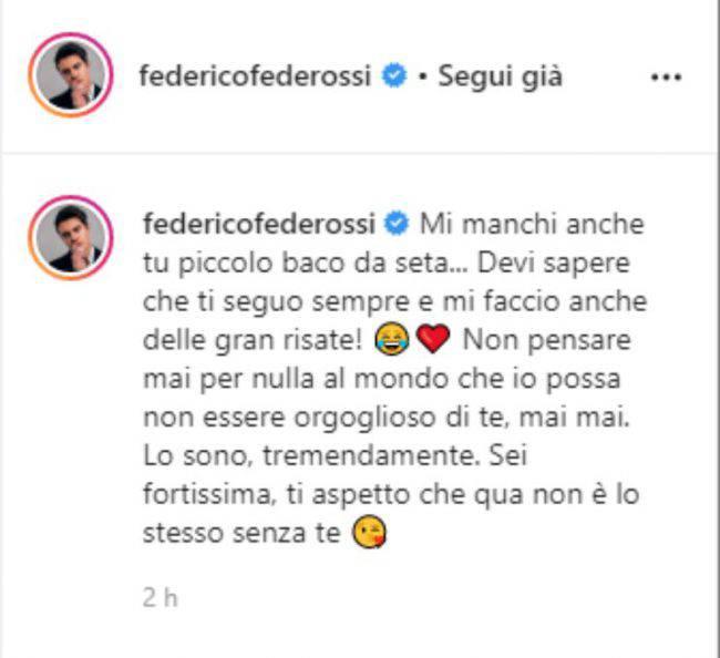 Federico Rossi attacca Antonio Zequila per difendere Paola Di Benedetto