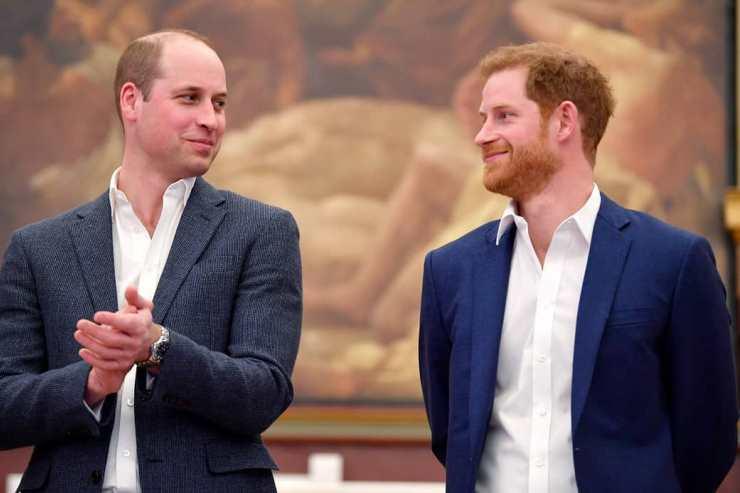 William contro Harry