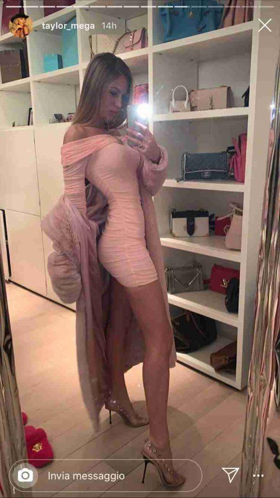 Taylor Mega vestito corto aderente