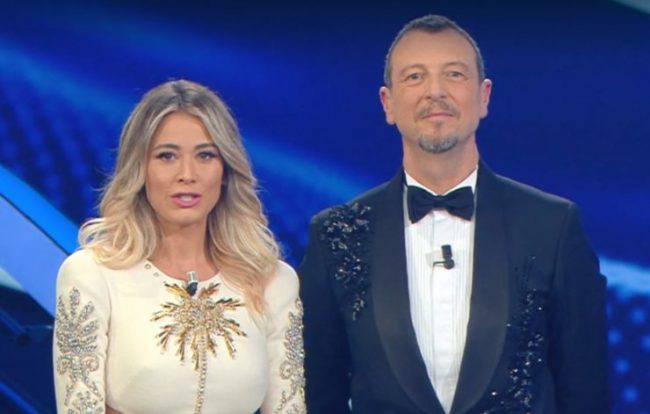 Sanremo 2020 gaffe Diletta