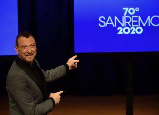 Amadeus Sanremo gaffe