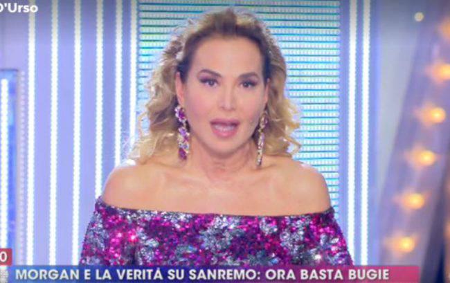 Barbara D'urso frecciatina Bugo
