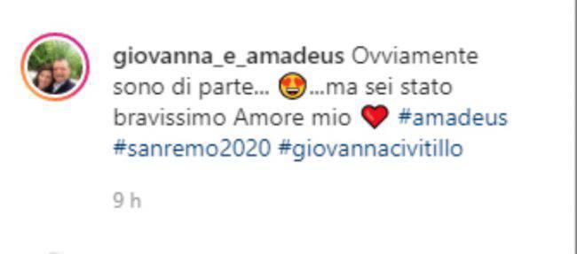 Giovanna Civitillo commento