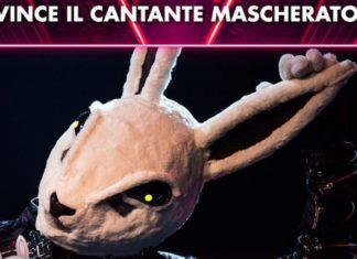 Il cantante Mascherato, vincitore prima edizione: il coniglio