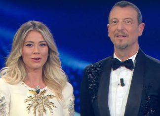 SAnremo Diletta leotta look