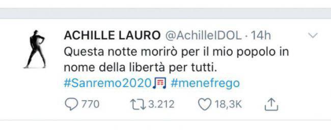 Achille Sanremo 2020