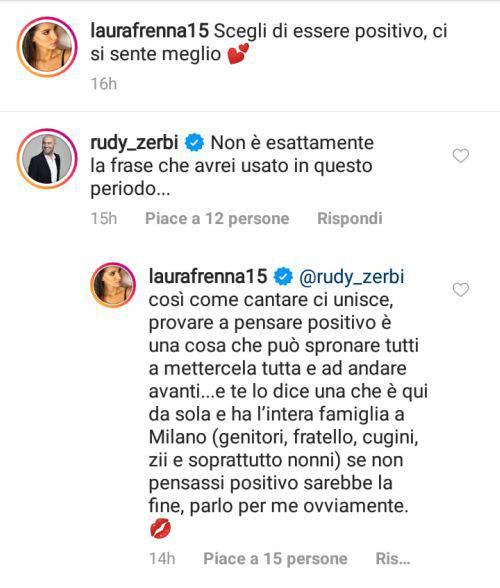 Rudy Zerbi Laura Frenna