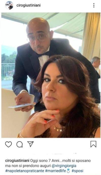 Ciro Giustiniani, avete mai visto la moglie del comico?