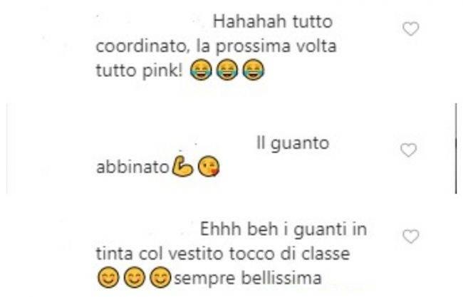 Clizia Incorvaia commnti Instagram