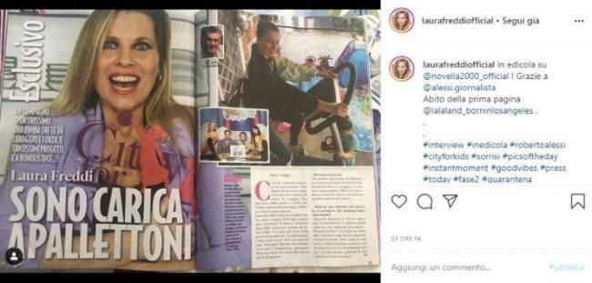 Laura Freddi intervista