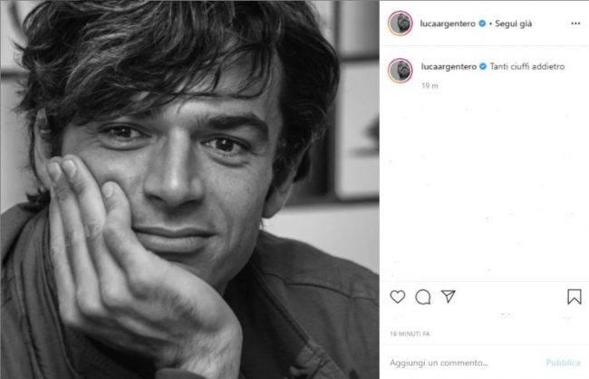 Luca Argentero foto passato