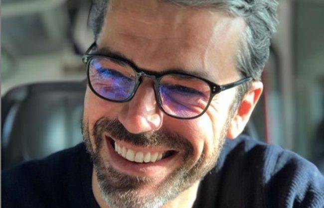 Luca Argentero foto passto