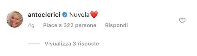 Benedetta Rossi gesto Clerici