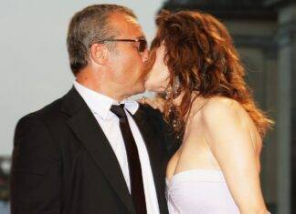 Claudio Amendola moglie