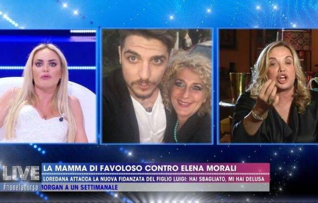 Live Elena Morali contro Simona Izzo