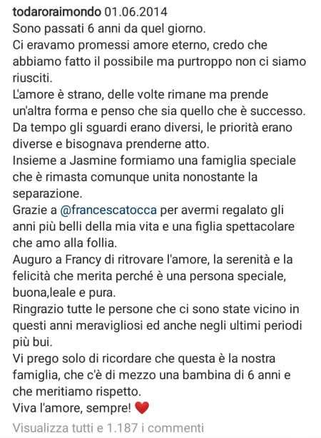 Raimondo Todaro post