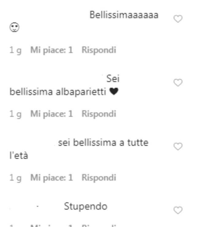 Alba Parietti costume