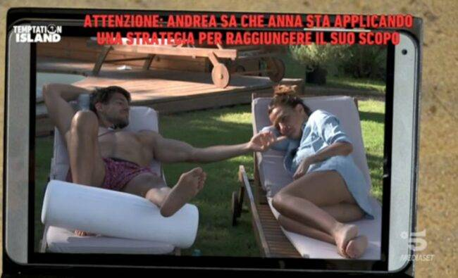 Temptation Island Andrea furioso