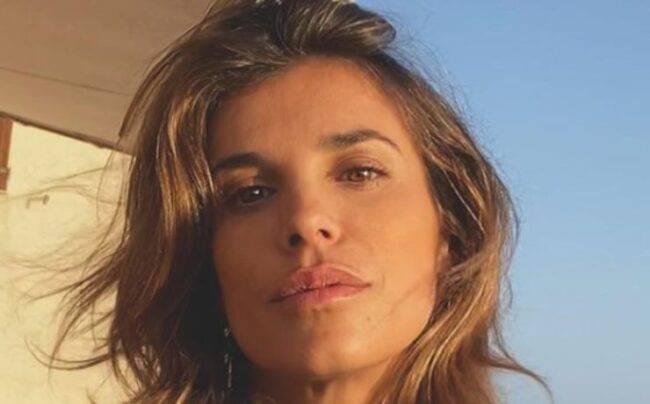 Elisabetta Canalis in intimo