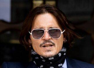 Johnny Depp assistente