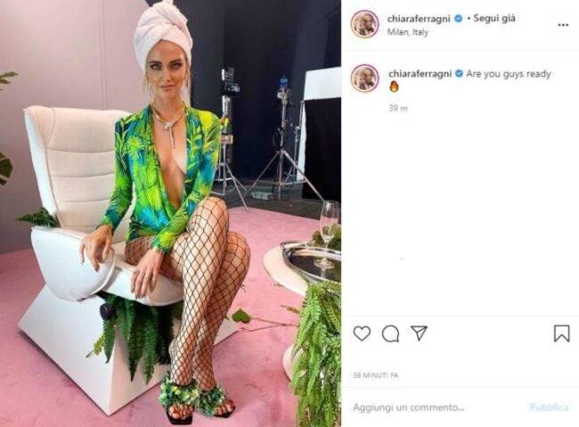 Chiara Ferragni scatto Instagram