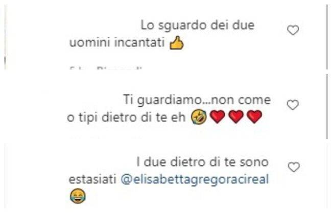 Elisabetta Gregoraci comemnti